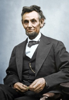They say every American thinks of Abe Lincoln once a day.